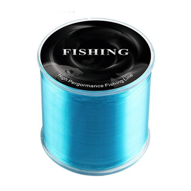 Arrival 500M 100% Nylon Fishing Line Super Strong Level Pe Line Main-GLS Fishing gear Store-Sky Blue-0.4-Bargain Bait Box