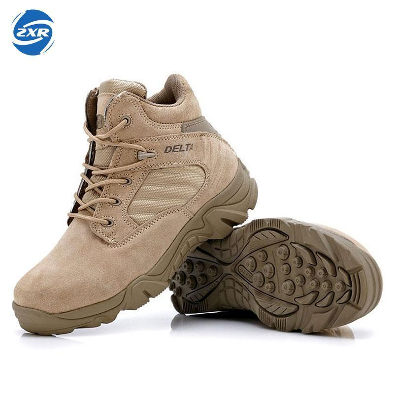 Autumn Winter Military Tactical Boots Round Toe Men Desert Combat Boots-zuoxiangru militarysport Store-1-5-Bargain Bait Box