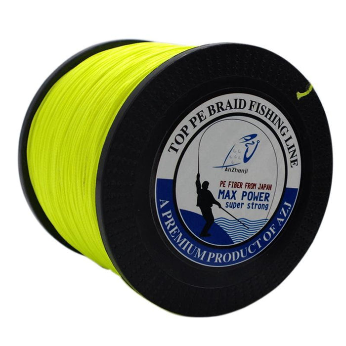 Azj 8 Strands 300M Super Strong 200Lb 250Lb 300Lb Multifilament Pe Braided-Thanksgiving Fishing Line-AZJ8p1000white-30-Bargain Bait Box