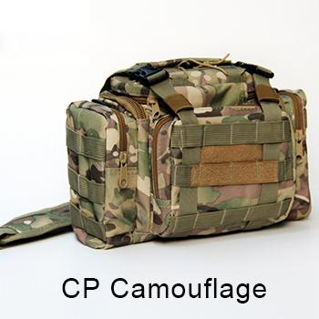 Bag 900D Oxford Fishing Tackle Bag Camo Waist Pack Messenger Bag Fishing Tackle-Tackle Bags-Bargain Bait Box-CP Camouflage-Bargain Bait Box