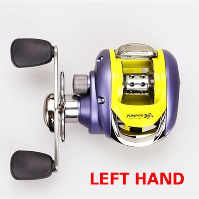 Baitcasting Reel 12+1 Bb Left Hand Right Hand Bait Casting Fishing Reels Coil-Baitcasting Reels-AOLIFE Sporting Store-Left 201-Bargain Bait Box