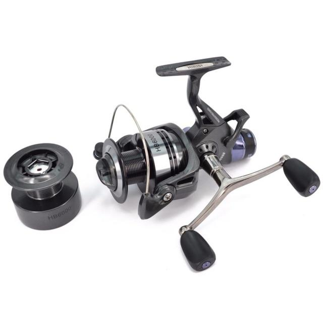 Ball Bearing 10Bb Spinning Reels Fishing Wheel Metal Line Cup Fishing Spool-Spinning Reels-AISPORT Store-HB4000-China-Bargain Bait Box