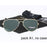 Banned 1976 Classic Hd Polarized Metal Frame Aviation Sunglasses Classic-Polarized Sunglasses-Bargain Bait Box-dep green no case-Bargain Bait Box