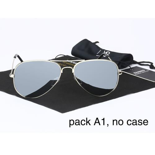 Banned 1976 Classic Hd Polarized Metal Frame Aviation Sunglasses Classic-Polarized Sunglasses-Bargain Bait Box-mirror no case-Bargain Bait Box