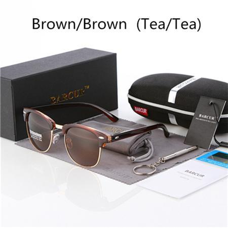 Barcur Sun Glasses Female Oculos Polarized Bc3016 Polarized Sunglasses Gafas-Polarized Sunglasses-Bargain Bait Box-Brown Brown-Bargain Bait Box