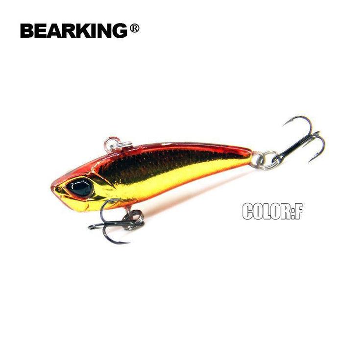 Bearking A+ Fishing Lures, Hard Bait, Vib(Lip Less) 40Mm 3.8G, Sinking, Good-bearking Official Store-A-Bargain Bait Box