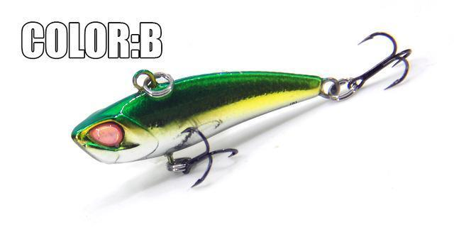 Bearking A+ Fishing Lures, Hard Bait, Vib(Lip Less) 40Mm 3.8G, Sinking, Good-bearking Official Store-B-Bargain Bait Box