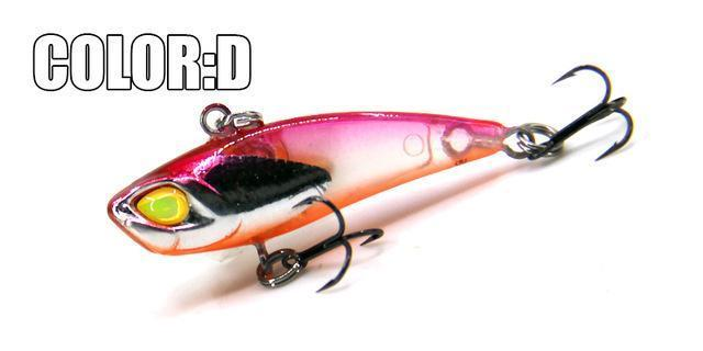 Bearking A+ Fishing Lures, Hard Bait, Vib(Lip Less) 40Mm 3.8G, Sinking, Good-bearking Official Store-D-Bargain Bait Box