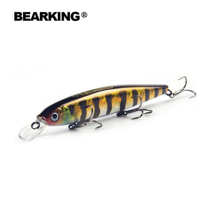Bearking Bk17-M130 Fishing Lure 1Pc Minnow 25G 130Mm 1.3 - 2M Depth Wobbling-The Best Tackles Co.,Ltd-Col.A-Bargain Bait Box