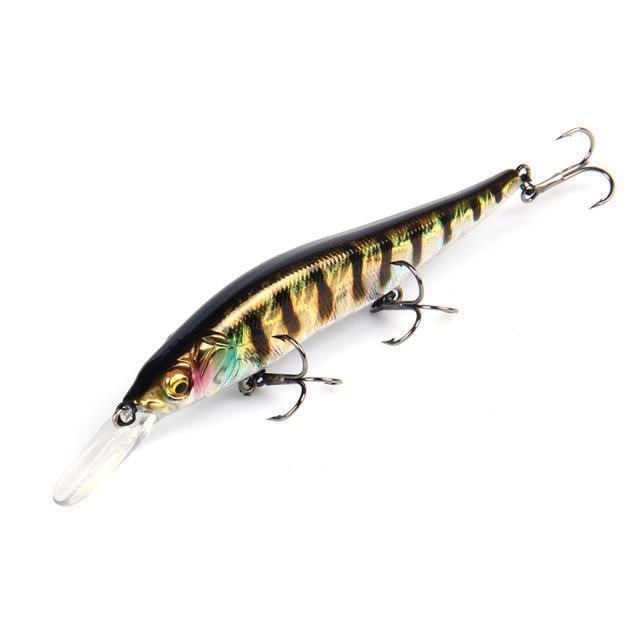 Bearking Excellent Action A+ Fishing Lures, Assorted Colors, Minnow Crank-bearking fishingtackle Store-F-Bargain Bait Box