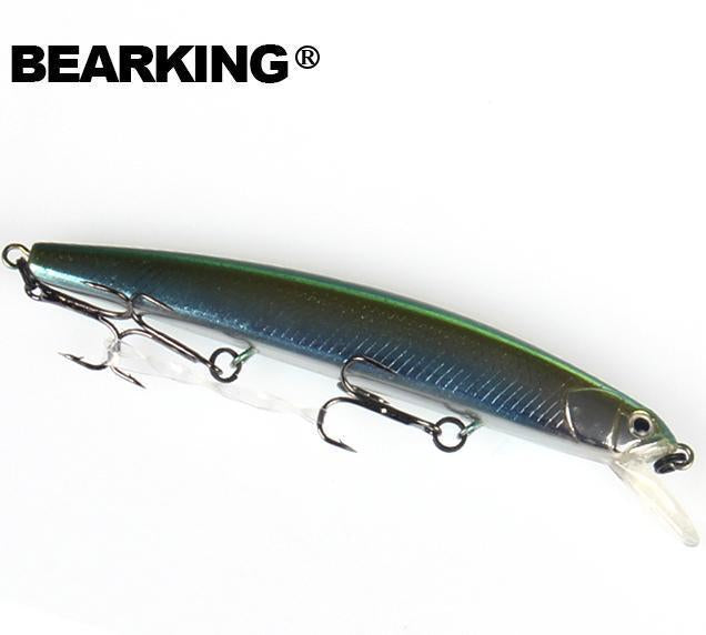 Bearking Fishing Lures, Assorted Colors, Minnow Crank 10Cm 8.5G,Tungsten-bearking Official Store-G-Bargain Bait Box
