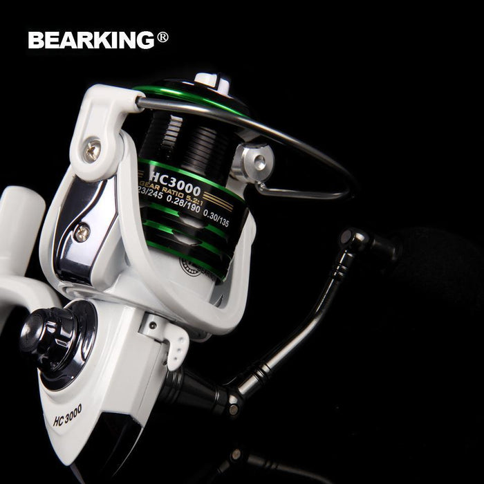 Bearking Mela Super Light Weight Body Max Drag 7Kg Carp Fishing Reel-Spinning Reels-A+ Fishing Tackle Store-2000 Series-Bargain Bait Box