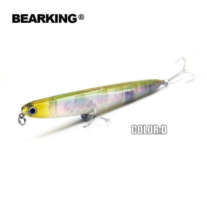 Bearking Professional Fishing Lures,110Mm 13G Top Water Pencilbait,Walkdog-bearking Official Store-A-Bargain Bait Box