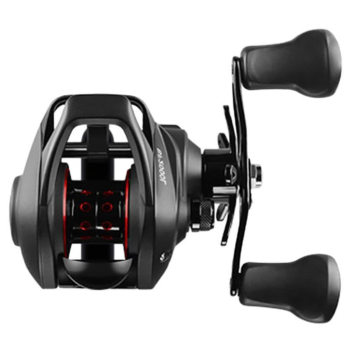 Bf2000 Reel High Speed 7.2:1 Gear Ratio 12+1Bb Fresh/Saltwater Magnetic Brake-Home-Cosmic Biggest Store-Black-Left Hand-Bargain Bait Box