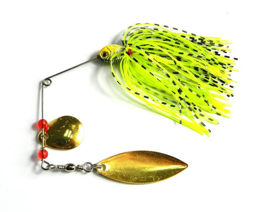 Big 4Pcs Metal Spinnerbait Lure Buzzbait Hooks Barbed Spoon Lure Reflective Hard-Spinnerbaits-Bargain Bait Box-Bargain Bait Box