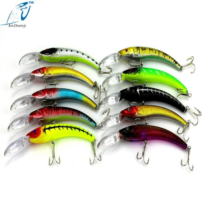 Big Game Minnow Plastic Hard Fishing Lures 15.5Cm 16.3G Isca Artificial-Musky & Pike Baits-Bargain Bait Box-Bargain Bait Box