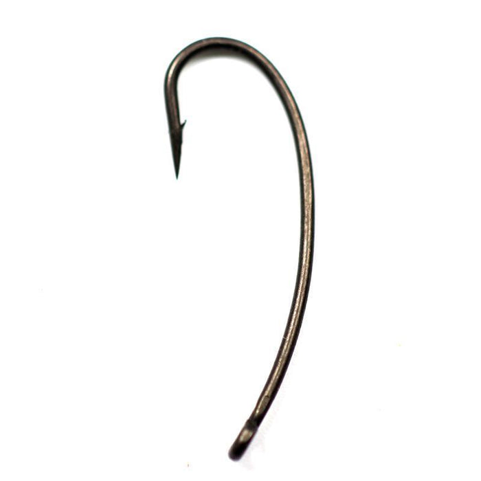 Bimoo 20Pcs/Pack Longshank Telflon Coating Carp Hooks Long Shank Carp Barbel-Bimoo Fishing Tackle Store-20pcs size 2-Bargain Bait Box