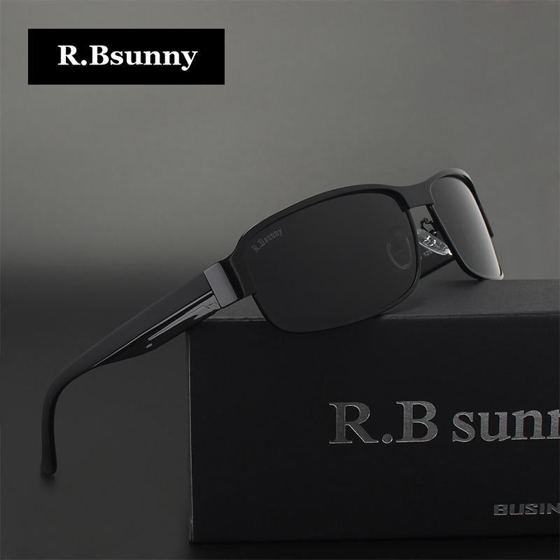 Black Hd Polarized Sunglasses Men Polaroid Uv400 Driving R.Bsunny Sunglasses-Polarized Sunglasses-Bargain Bait Box-R1606 C1 BOX-Bargain Bait Box