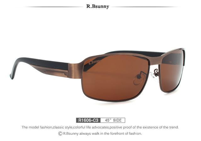 Black Hd Polarized Sunglasses Men Polaroid Uv400 Driving R.Bsunny Sunglasses-Polarized Sunglasses-Bargain Bait Box-R1606 C3 BOX-Bargain Bait Box