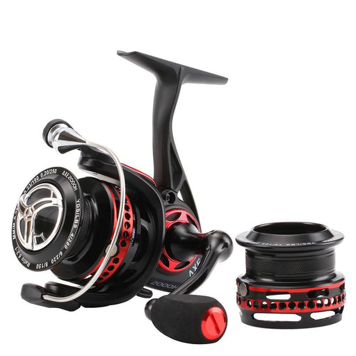 Black Red 2000S Spinning Reel 6.2:1 259G Full Metal Waterproof Anti-Corrosion-Spinning Reels-NUNATAK Fishing Store-Bargain Bait Box