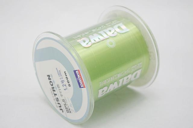 Blade Series 500M Fishing Line Monofilament Daiwa Japan Material Carp Fish-There is always a suitable for you-Light Green-0.4-Bargain Bait Box
