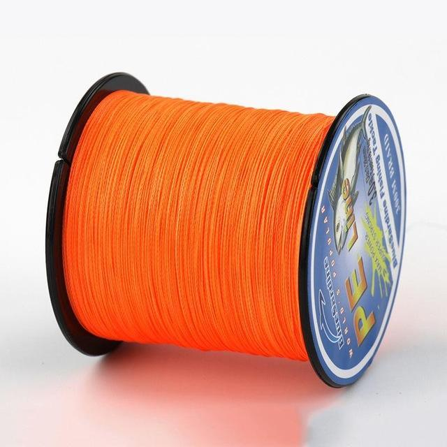 Bluesardine 300M Super Strong Braided Fishing Line Multifilament Pe 4 Braid-BlueSardine Official Store-Orange-0.4-Bargain Bait Box