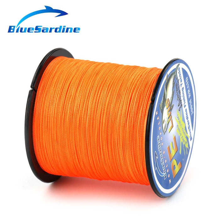 Bluesardine 300M Super Strong Braided Fishing Line Multifilament Pe 4 Braid-BlueSardine Official Store-White-0.4-Bargain Bait Box