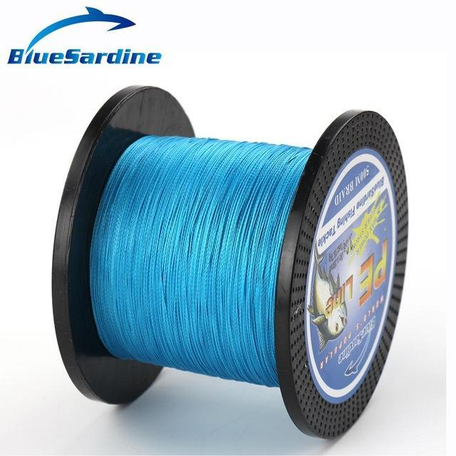 Bluesardine 500M Braided Fishing Line Multifilament Pe Braided Wire Fishing-BlueSardine Official Store-Blue-0.4-Bargain Bait Box