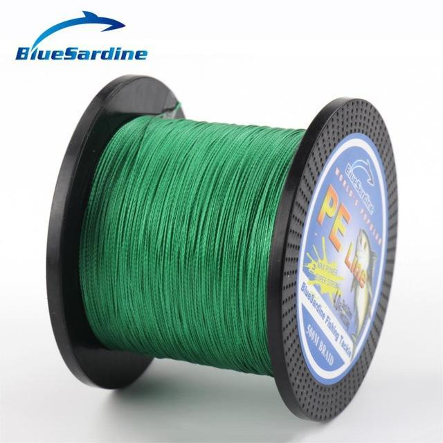 Bluesardine 500M Braided Fishing Line Multifilament Pe Braided Wire Fishing-BlueSardine Official Store-Green-0.4-Bargain Bait Box