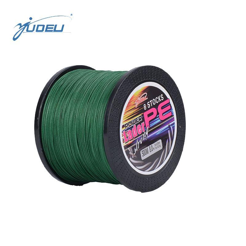 Bobing Ydl 500M 8 Strands Pe Braided Fishing Line Fishing Rope Wire String-Angler & Cyclist's Store-White-1.0-Bargain Bait Box
