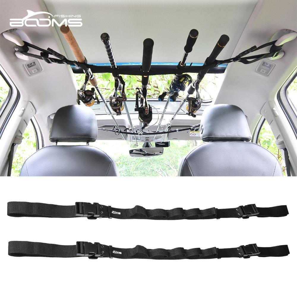 Booms Fishing Vrc Vehicle Rod Carrier Rod Holder Belt Strap With Tie-booms fishing Official Store-Bargain Bait Box