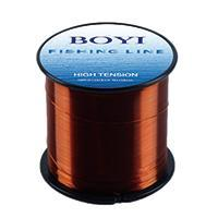 Boyi Nylon Fishing Line 500M Monofilament Line Japan Material 7 Colors High-BOYIFT Store-BROWN-0.8-Bargain Bait Box