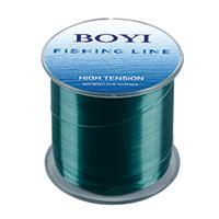 Boyi Nylon Fishing Line 500M Monofilament Line Japan Material 7 Colors High-BOYIFT Store-GREEN-0.8-Bargain Bait Box
