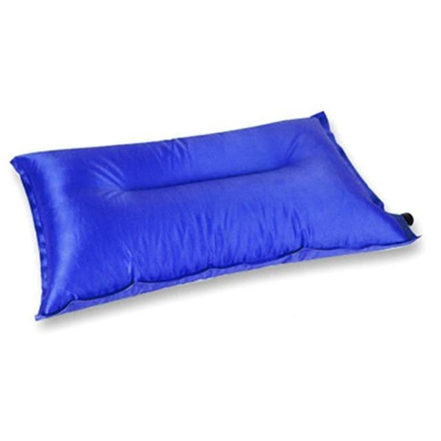 Brand Automatic Inflatable Pillow Air Cushion For Hiking Backpacking Travel-MILLIONS OF SHARE-Blue-Bargain Bait Box