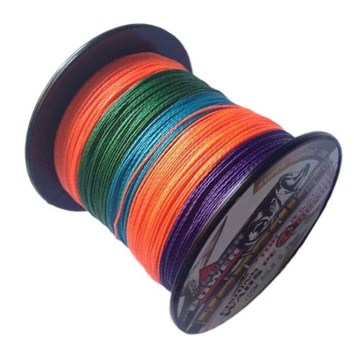 Brand Japan Multifilament Pe Braided Fishing Line 8 Color To Choices 100M-ASCON FISH Official Store-White-0.4-Bargain Bait Box