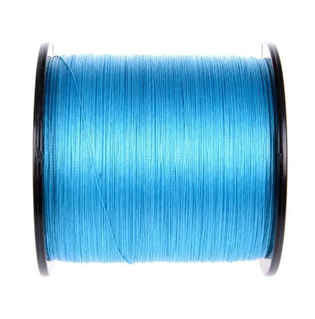 Brands High Quanlity 500M/547Yards Pe Braided Fishing Line 4 Strands Sea Fishing-WuHe Pro Fishing tackle-Blue-0.6-Bargain Bait Box