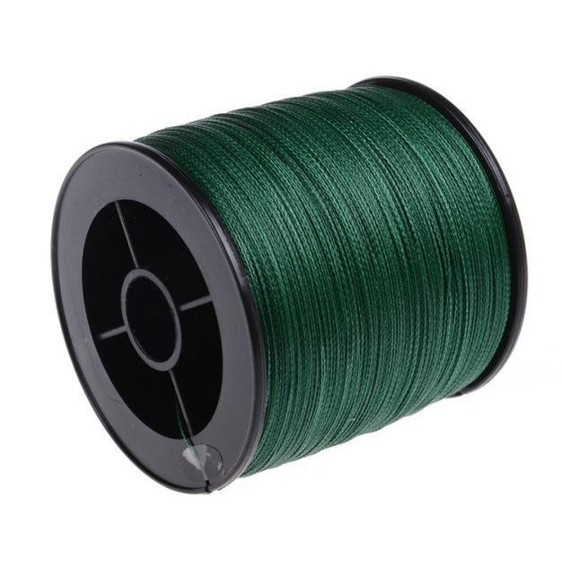 Brands High Quanlity 500M/547Yards Pe Braided Fishing Line 4 Strands Sea Fishing-WuHe Pro Fishing tackle-Green-0.6-Bargain Bait Box