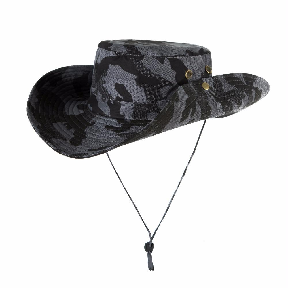 Bucket Hat Bonnie Hunting Fishing Cap - Wide Brim Military Bonnie Hats Hw035-Hats-Bargain Bait Box-HW035A-Bargain Bait Box