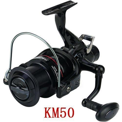 Build Yumoshi Km50/60 Black 11Bb Brake Fishing Reel G-Ratio 5.2:1 Fly Fishing-Spinning Reels-RedMeet Fishing Store-KM50-black-Bargain Bait Box