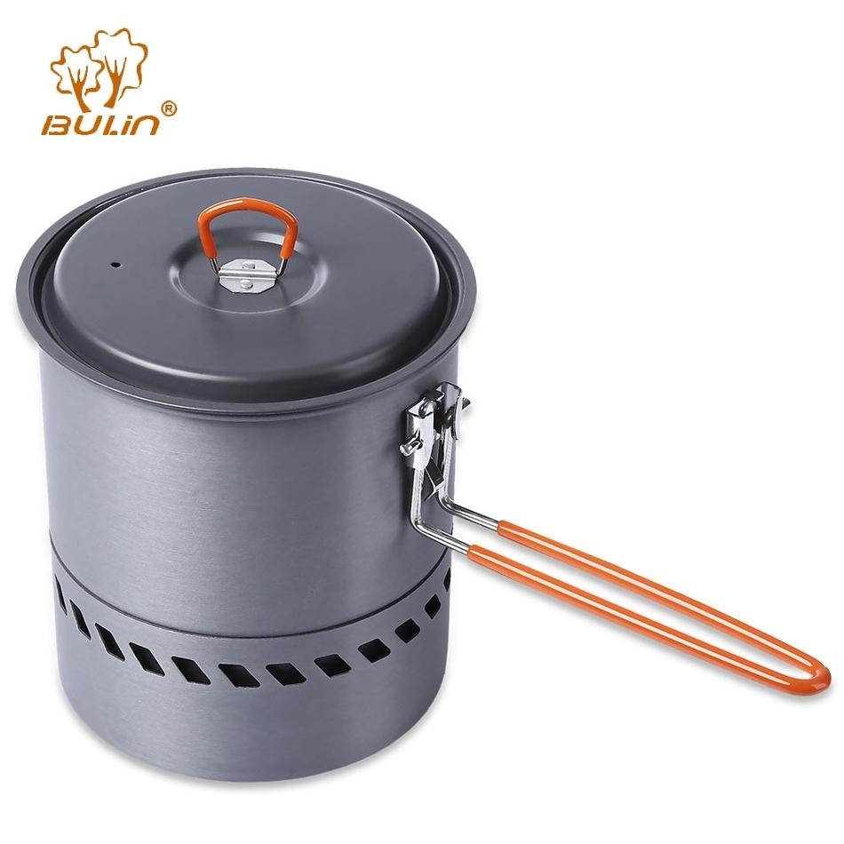 Bulin Hiking Picnic Backpacking Tableware Camping Pot Pan Outdoor Cookware-Outl1fe Adventure Store-Bargain Bait Box