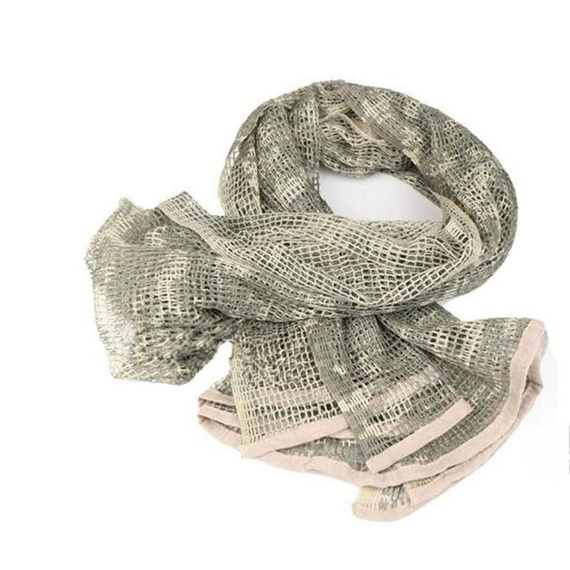 Camo Multipurpose Hiking Camping Military Scarves Field Combat Army Camouflage-CIKRILAN-ACU-Bargain Bait Box
