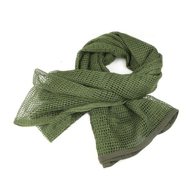 Camo Multipurpose Hiking Camping Military Scarves Field Combat Army Camouflage-CIKRILAN-Army green-Bargain Bait Box