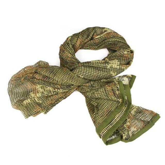 Camo Multipurpose Hiking Camping Military Scarves Field Combat Army Camouflage-CIKRILAN-CP-Bargain Bait Box
