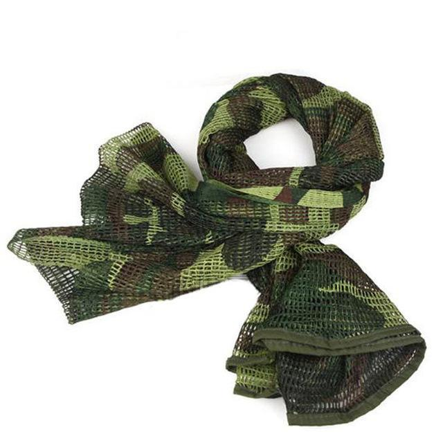Camo Multipurpose Hiking Camping Military Scarves Field Combat Army Camouflage-CIKRILAN-Jungle camouflage 1-Bargain Bait Box