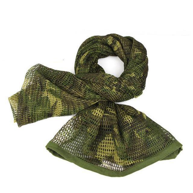 Camo Multipurpose Hiking Camping Military Scarves Field Combat Army Camouflage-CIKRILAN-Jungle camouflage 2-Bargain Bait Box