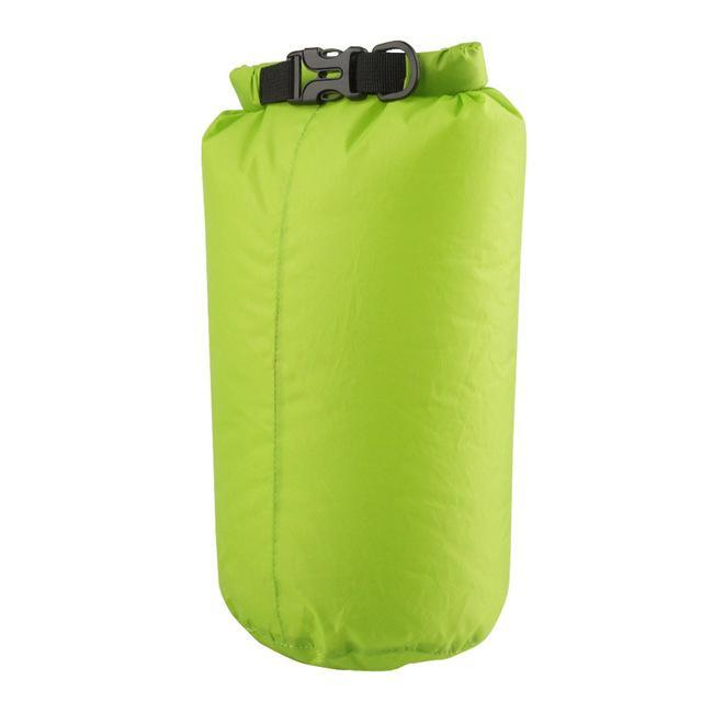Camping Bolsa Seca 8L Waterproof Canoe Swimming Camping Backpack Dry Bag Pouch-Dry Bags-Bargain Bait Box-Green Color-Bargain Bait Box