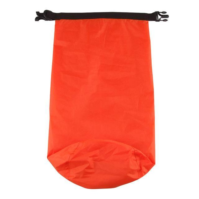 Camping Bolsa Seca 8L Waterproof Canoe Swimming Camping Backpack Dry Bag Pouch-Dry Bags-Bargain Bait Box-Orange-Bargain Bait Box