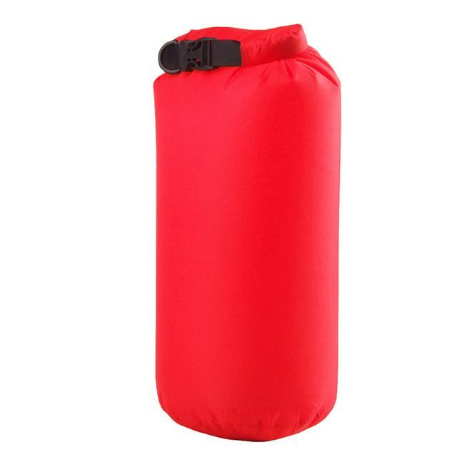 Camping Bolsa Seca 8L Waterproof Canoe Swimming Camping Backpack Dry Bag Pouch-Dry Bags-Bargain Bait Box-Red Color-Bargain Bait Box