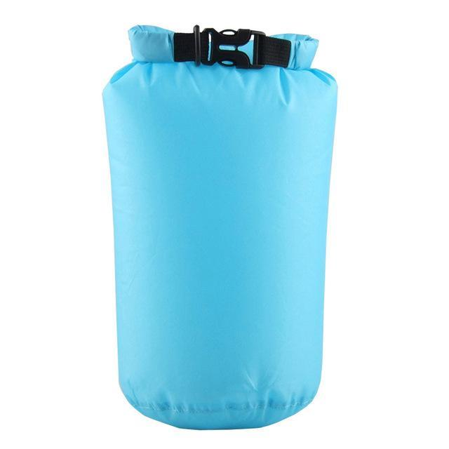 Camping Bolsa Seca 8L Waterproof Canoe Swimming Camping Backpack Dry Bag Pouch-Dry Bags-Bargain Bait Box-Sky Blue-Bargain Bait Box