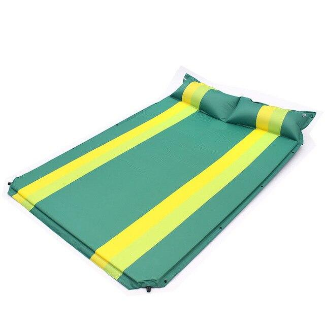 Camping Inflatable Mat Outdoor Tent Folding Mattress Explosion Proof Camping-Camping Mat-Alpscamping Store-Green-Bargain Bait Box